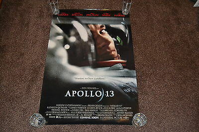 APOLLO 13 - original 1995 US one sheet teaser cinema Poster - Tom Hanks