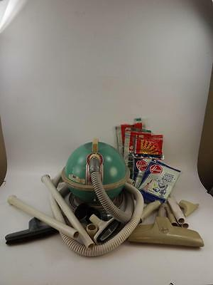 Vintage Hoover Constellation 454 Vacuum Cleaner W/Attachments-Used Works