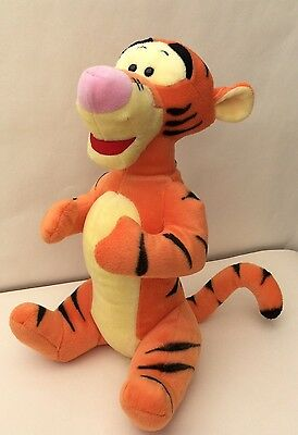 "Large Disney Tigger - Winnie The Pooh Plush Soft Toy 14"" Tall Great Condition"