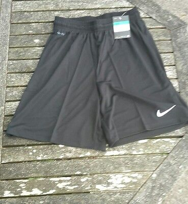 New Boys Nike Park Shorts  Dri Fit Childs  Sport Football Shorts Xlb Ages 13-15