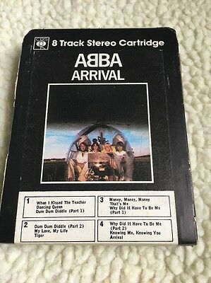 ABBA -ARRIVAL 8 Track / UK RELEASE - Eight Track
