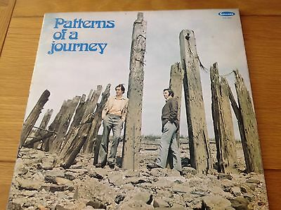 Christopher Rowe And Ian Clark-Patterns Of A Journey-Galliard Label-1973-LP EX