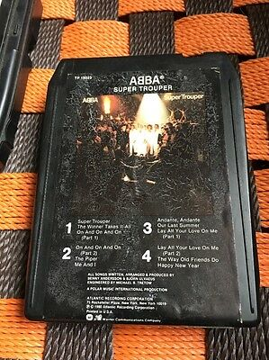 8 track  -  ABBA - SUPER TROUPER USA Release - Eight Track