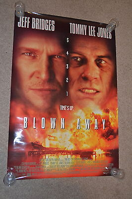 BLOWN AWAY - 1994 US one sheet cinema Poster - Jeff Bridges - Tommy Lee Jones