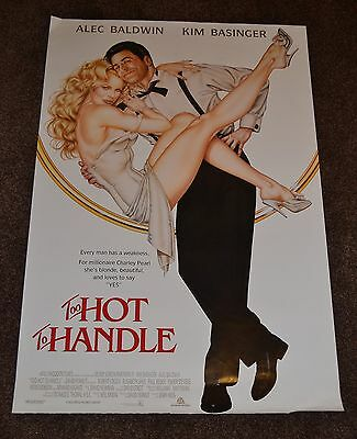 TOO HOT TO HANDLE 1991 US one sheet cinema Poster Kim Basinger Alec Baldwin