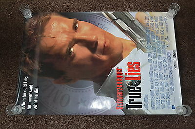 TRUE LIES 1994 US one sheet cinema Poster Arnold Schwarzenegger Jamie Lee Curtis