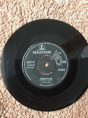 Beatles.From Me To You/ Thank you Girl.1st Pressing 7nxce 17329-1n.
