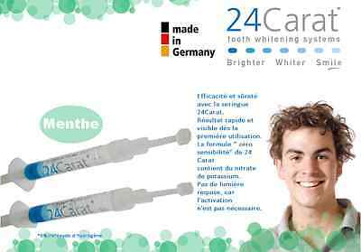 Kit blanchiment dentaire - blanchiment des dents -24caratoffice
