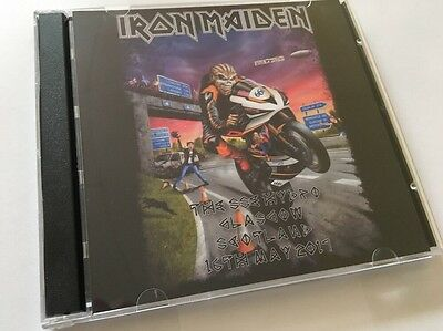Iron Maiden Double CD Glasgow Scotland The Book Of Souls Tour 2017