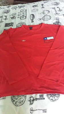 Chile Adidas Originals Football Shirt L/s Size L