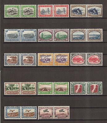 SOUTH WEST AFRICA 1931 SG74/87 Mint Cat £225