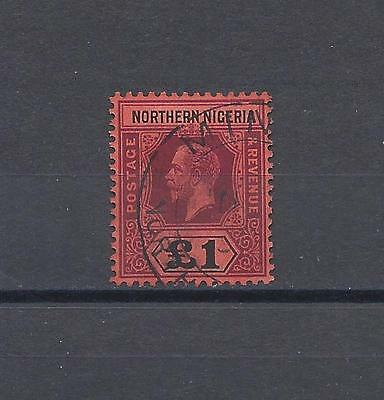 NORTHERN NIGERIA 1912 SG52 USED Cat £110