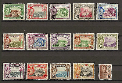 DOMINICA 1938-47 99/109A Used Cat £75