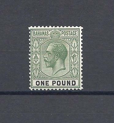 BAHAMAS 1921-37 SG 125 Mint Cat £180