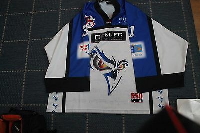 Manchester Phoenix Warm-up Ice Hockey Jersey - Stephen Fone