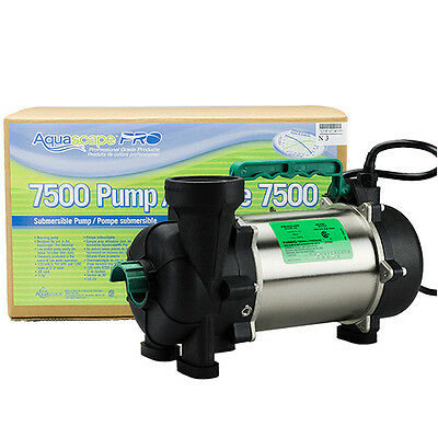 AquascapePRO 7500 Pump with BONUS Floating Pond Thermometer!