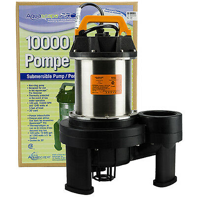 AquascapePRO 10000 Pump with BONUS Floating Pond Thermometer!