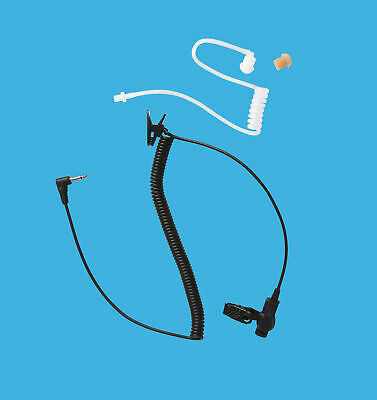 Public Safety Use Receiving Only Earphone with 3.5mm Plug for Speaker Microphone