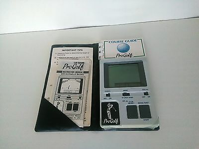 Vintage handheld electronic game Pro Golf Bandai working VGC 1984 Made in Japan