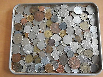 3 Pounds lbs Assorted Foreign Coins World Nice Large Lot 34