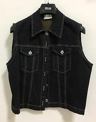 Gilet in jeans, NUOVO