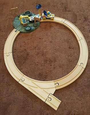 Brio Space Adventure wooden train set authentic 33910