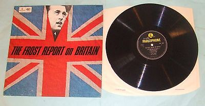 LP Of Pythonesque Farce - The Frost Report On Britain. With john Cleese. 1966.