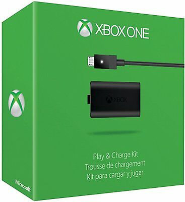 Official Microsoft XBOX ONE Play & Charge Kit  Brand New Retail Pack