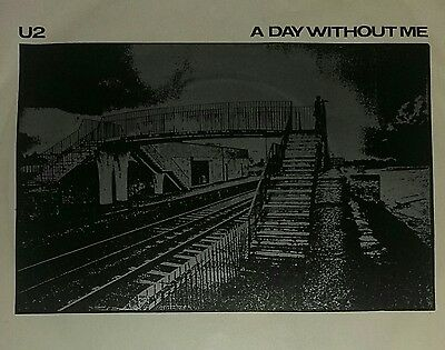 A day without me -U2 7  inch single