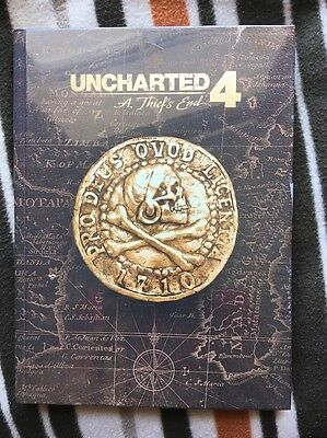 Uncharted 4 Collectors Edition Strategy Guide MINT CONDITION SEALED