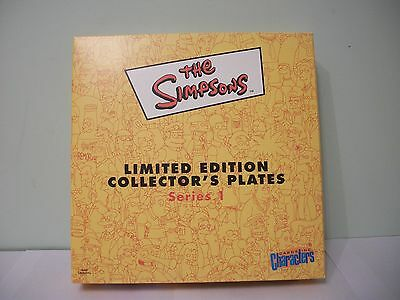 "The Simpsons Series 1 Limited Edition 8"" Collector's Plate – Maggie (BNIB)"