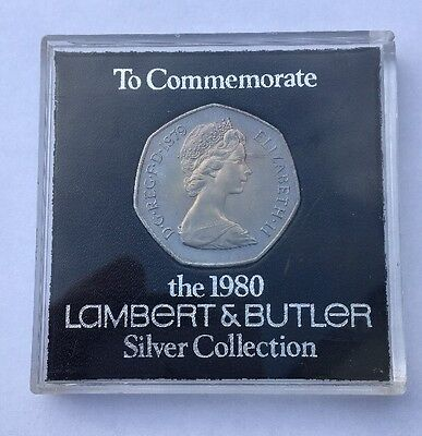 50p Coin To Commemorate The 1980 Lambert & Butler Silver Collection