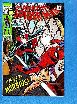Amazing Spider-Man #101, VF+ 8.5, first appearance Morbius