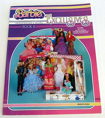 Barbie Exclusives Book 2 II Identification & Values Guide By Margo Rana 1996