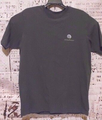 """Tommy Bahama Men's T-Shirt """"First Cup of The Morning"""" Crew Neck 100% Cotton Flaw"""