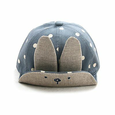 Tinksky Baby Boy Girl Kid Toddler Infant Sun Hat Peaked Baseball Beret Cap Blue