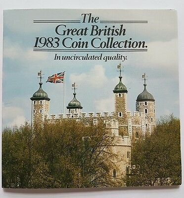 The Great British 1983 coin collection