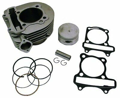 180cc CYLINDER KIT FOR GY6 B-BLOCK 80.5mm DIAGONAL / 57mm BOLT SPACING