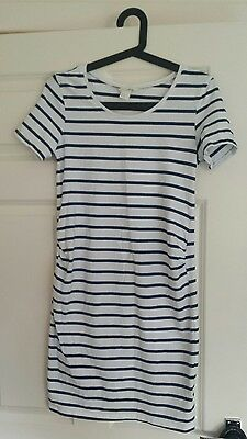 Maternity tunic top MAMA H&M size S (8-10)