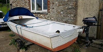 16ft Open day fishing boat - Project. Boat/trailer/outboard