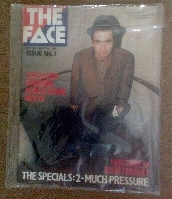 THE FACE MAGAZINE No.1 ORIGINAL ISSUE JERRY DAMMERS SPECIALS 2-TONE MOD SKINHEAD