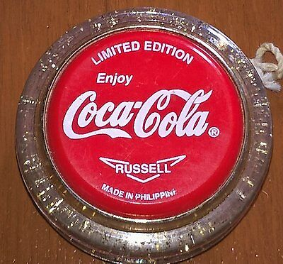 Limited Edition Genuine Russell Gold Fleck Coca-Cola YoYo