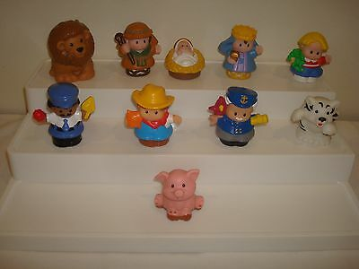 Fisher Price Little People Replacement Figures X 10  (Lot 3 )