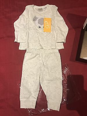 Gingerlily Size 0-3mths Pyjamas New With Tags And Keepsake Box