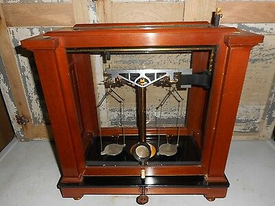 Antique Old RARE Christian Becker NY Apothecary/Analytical, semi micro Scale