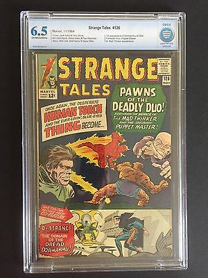Strange Tales 126 CBCS 6.5 First App Dormammu And Clea (not CGC)