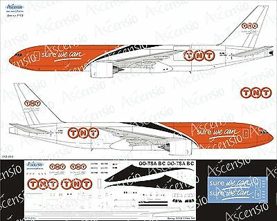 "1:144 Ascensio #77F-003  - Boeing 777F ""TNT"", Decal"