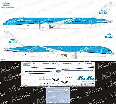 "1:144 Ascensio #789-002  -   Boeing 787-9 ""KLM"", Decal"