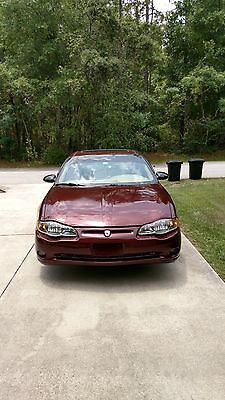 2001 Chevrolet Monte Carlo SS Low mileage clean car with brand new Pirelli tires and alignment. New battery !!