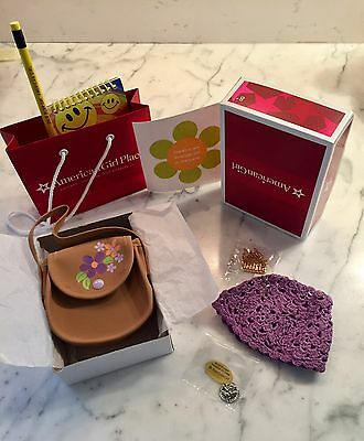 American Girl Julie Accessories New in Box  & Gift Bag From Julie's Introduction